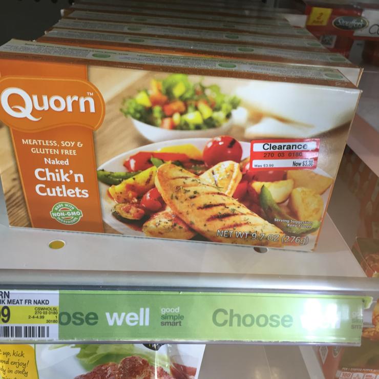 Vegan user review of Target in San Jose.