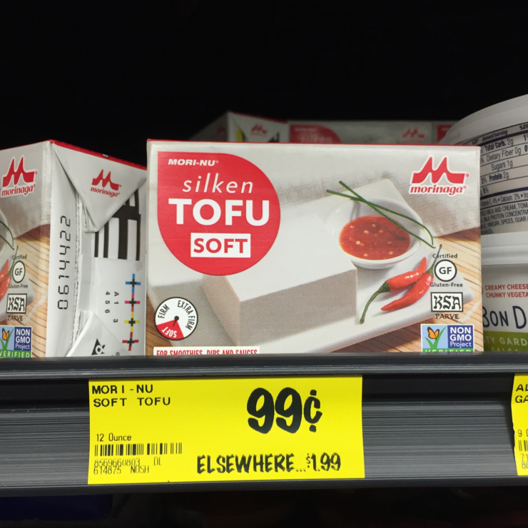 Vegan user review of Grocery Outlet in San Jose. #tofu