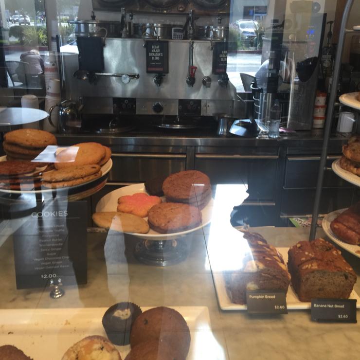 Vegan user review of Peet's Coffee & Tea in Cupertino. Vegan ginger cookies