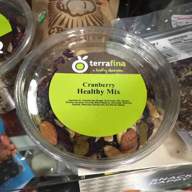 Vegan user review of T.J. Maxx and HomeGoods in Santa Clara. #mixednuts
