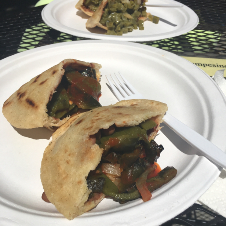 Vegan user review of Cafe Campesino in Santa Cruz. Vegan gorditas at Cafe Campesino. #mexican #food