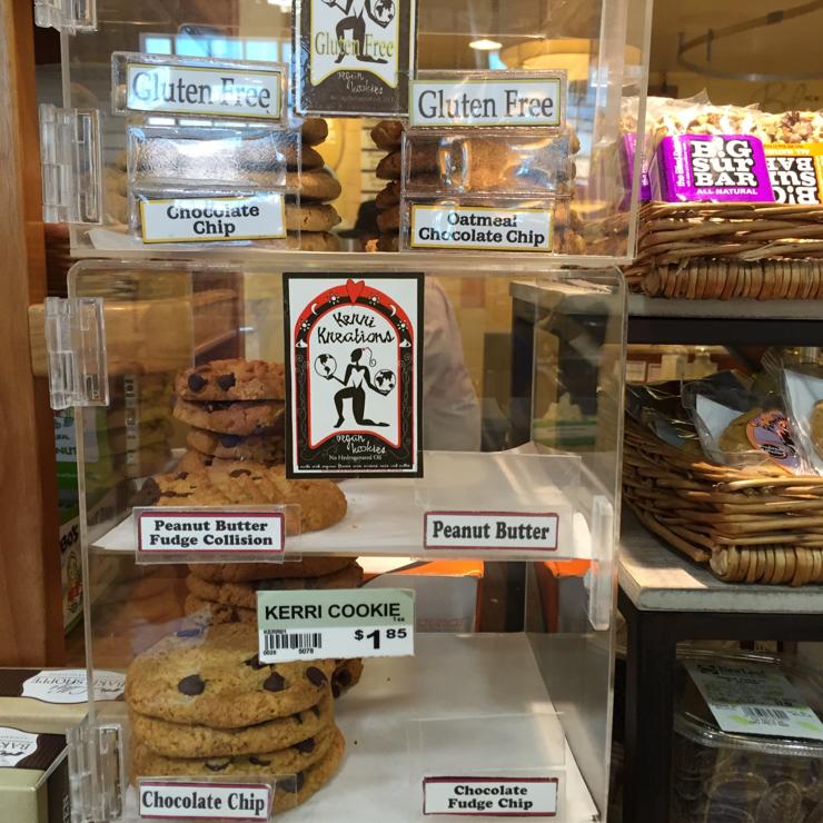 Vegan user review of New Leaf Community Markets in Santa Cruz. #cookies