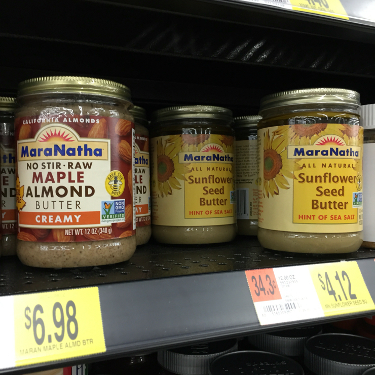 Vegan user review of Walmart in Mountain View. #nutbutters #natural