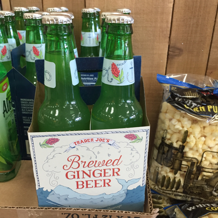 Vegan user review of Trader Joe's in Mountain View. Great spicy #gingerbeer #nonalcoholic #drink. Be sure to get TJs brand, the other brand has honey in it.