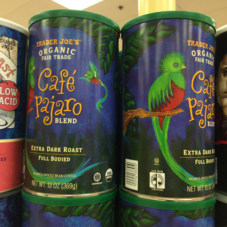 Vegan user review of Trader Joe's in Mountain View. Awesome fair trade #darkroast #coffee