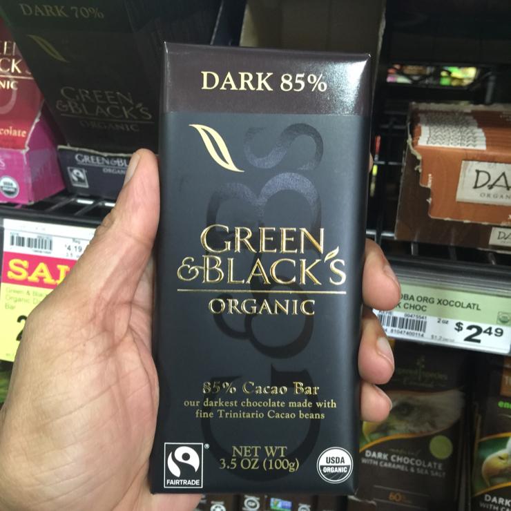 Vegan user review of New Leaf Community Markets in Santa Cruz. Amazing #darkchocolate