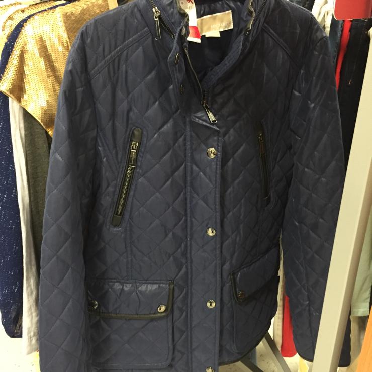 Vegan user review of T.J.Maxx 4651 in Davis. Michael Kors faux leather jacket. Polyester, nylon