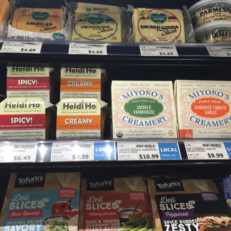 Vegan user review of Whole Foods Market in Campbell. #food #cheese #tofurkey