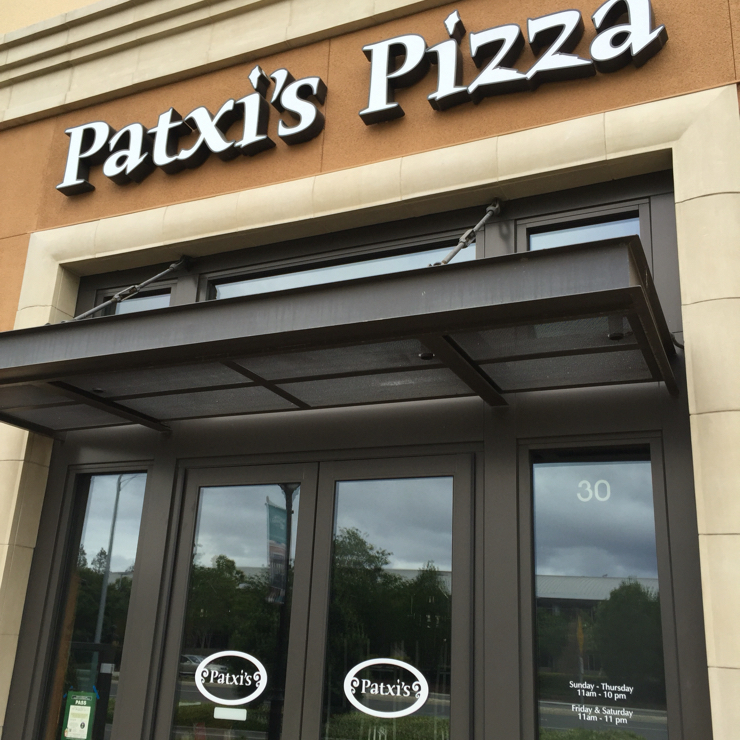 Vegan user review of Patxi's Pizza San Jose in San Jose. Vegan pizza options  #food #lunch #dinner #restaurant