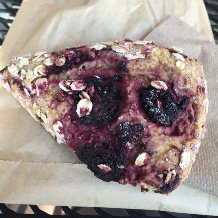 Vegan user review of Peet's Coffee in San Jose. Scone #coffee #snacks #breakfast