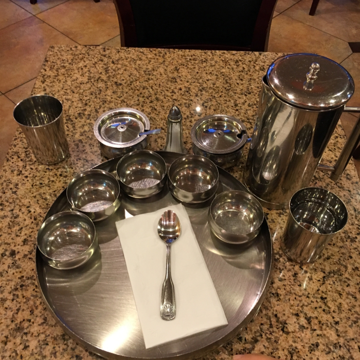Vegan user review of Thali Indian Vegetarian in Sunnyvale. I call them ahead of time and they prepare vegan gluten free food ......food will soon be served #dinner