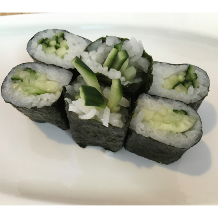 Vegan user review of Ryu Sushi Bistro in San Carlos. Kappa Maki that I usually make myself but this time decided to eat out  #food #dinner #restaurant