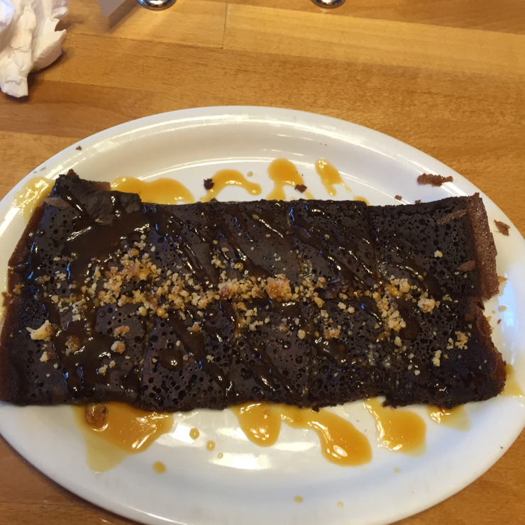 Vegan user review of Delicious Crepes Bistro in Santa Clara. French affection