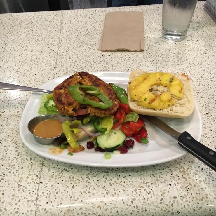 Vegan user review of The Counter Santana Row in San Jose. #dinner