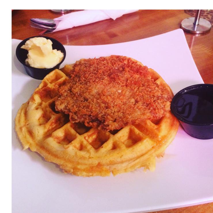 Vegan user review of Souley Vegan in Oakland.  Chik n' Waffles #food #lunch #restaurant