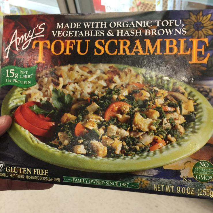 Vegan user review of Target in San Ramon. Amy's Tofu Scramble