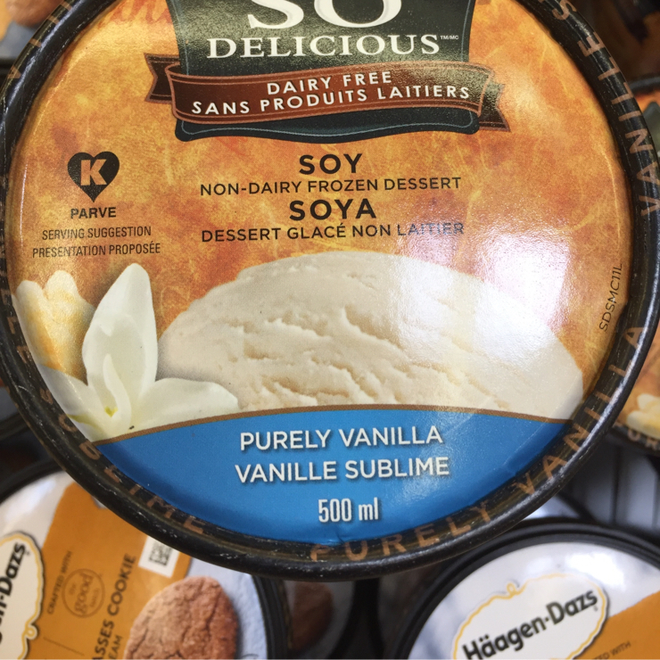 Vegan user review of Grocery Outlet in San Jose. Soy #icecream $2.49/pint #food #store