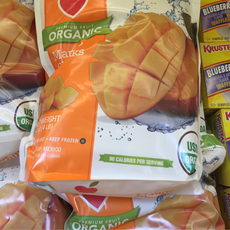 Vegan user review of Grocery Outlet in San Jose. Frozen #mango #food #grocery #store