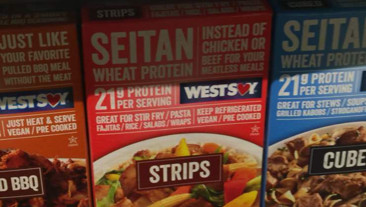 Vegan user review of Whole Foods Market in Cupertino. Seitan strips at Whole Foods. Lots of flavors. #meal #pruiein #strips #rice #seitan #lunch #dinner #grocery #store #store #grocery #dinner #lunch #seitan #rice #strips #pruiein #meal