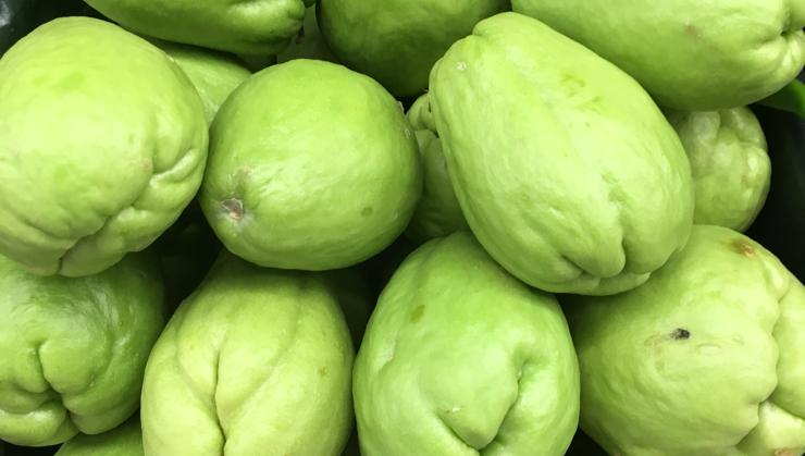 Vegan user review of Chavez Supermarket in San Jose. #produce #fruit chayotes  #fruit #produce