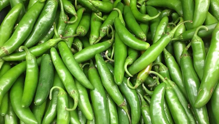 Vegan user review of Chavez Supermarket in San Jose. #produce #vegetable jalapeños  #vegetable #produce