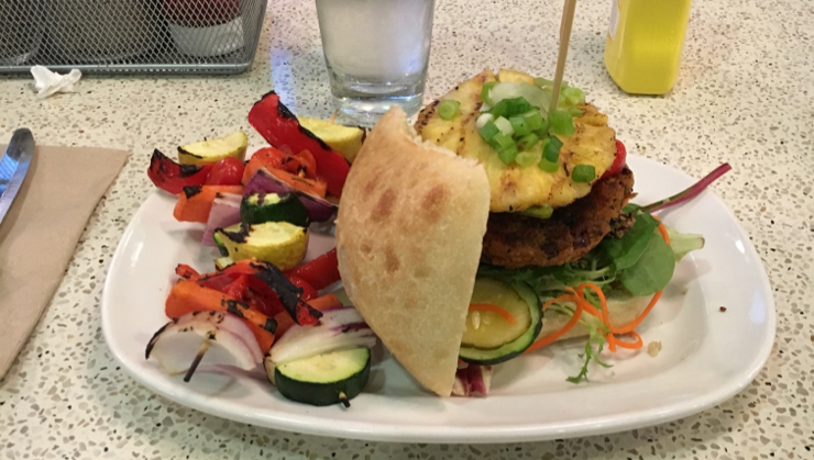 Vegan user review of The Counter Santana Row in San Jose. #food #dinner vegan burger  #dinner #food