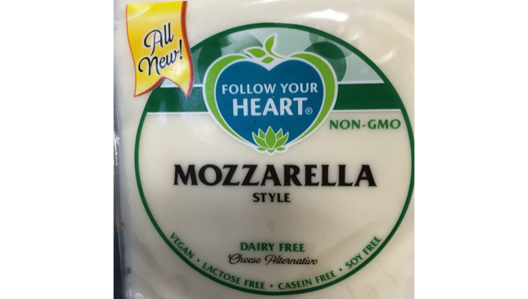 Vegan user review of Earth Fare CMG in Cumming. #mozzarella cheese  #mozzarella