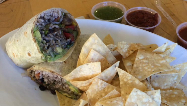 Vegan user review of Rubio's in Sunnyvale. Roasted veggie burrito no cheese and no chipotle sauce. Very good and surprised they have good vegan options here! #dish #meal #food #dinner #restaurant #restaurant #dinner #food #meal #dish