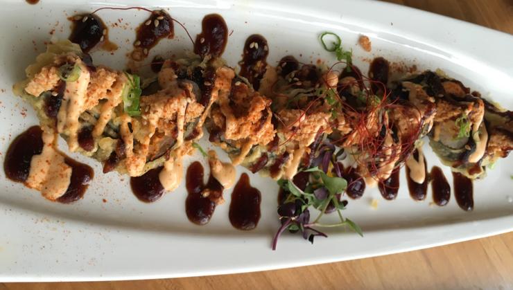 Vegan user review of Shizen Vegan Sushi Bar & Izakaya in San Francisco. Body and Soul Roll