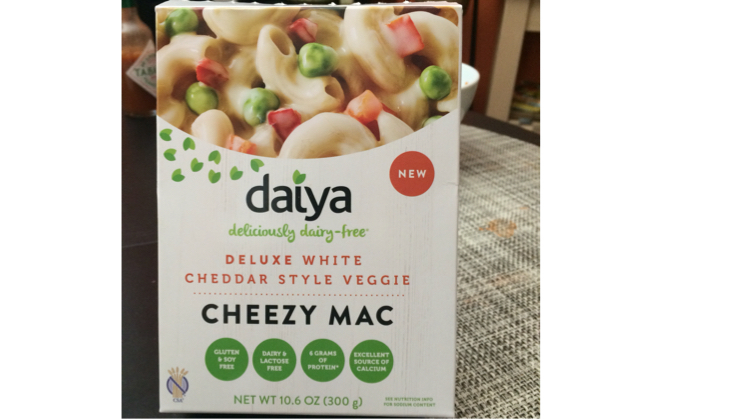 Vegan user review of Safeway Cambell Plaza Shopping Center in Campbell. Found at Safeway. Tastes really good! Make sure to get the one with peas and carrots.  Tip: we only used half the amount of the sauce that it came with and it was just right. Save the rest of the sauce packet for later! #meal #dalya #whitecheddar #cheezy #mac #excellent #grocery