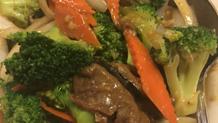 Vegan user review of Merit Vegetarian Restaurant in Sunnyvale. #food #lunch #dinner #dessert #restaurant #vegetable #asianfood #broccoli healthy broccoli stir fry #meal