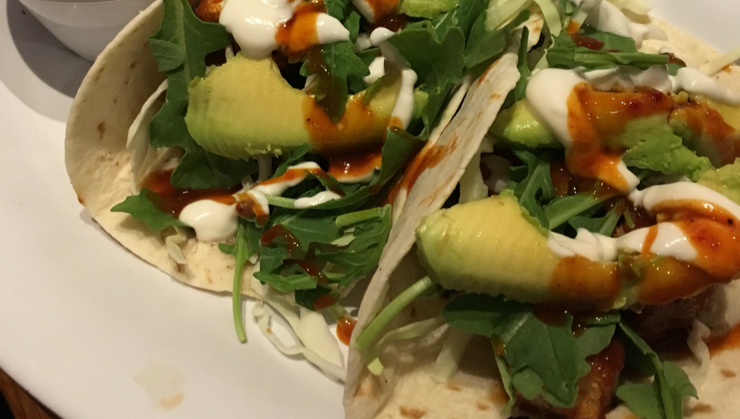Vegan user review of Veggie Grill in San Jose. Korean Tacos summer season only special is really tasty! Loved it.