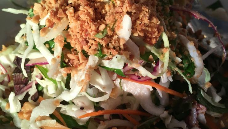 Vegan user review of Vegetarian House in San Jose. Heavenly Salad