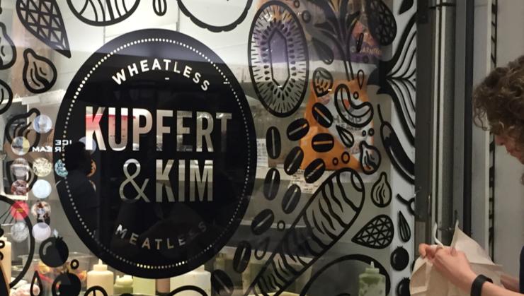 Vegan user review of Kupfert & Kim (First Canadian Place) in Toronto. Vegan coffee and snacks #food #dessert #snack #coffee