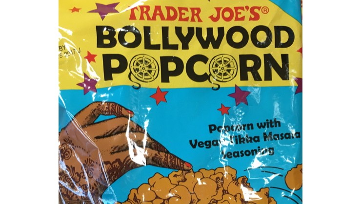 Vegan user review of Trader Joe's in San Carlos. Funky combination of spices on a traditional snack