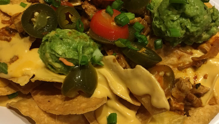 Vegan user review of Veggie Grill in San Jose. My favorite, nachos without sour cream