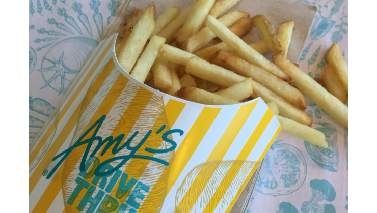 Vegan user review of Amy's Drive Thru in Rohnert Park. #lunch