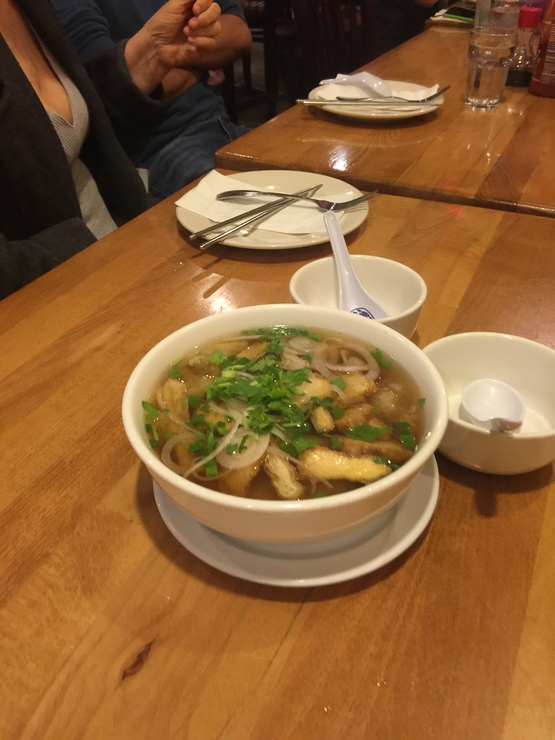 Vegan user review of Merit Vegetarian Restaurant in Sunnyvale. Wonton soup #dinner #food #restaurant