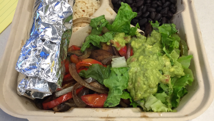 Vegan user review of Southwest Grill in San Mateo. #lunch #food #restaurant