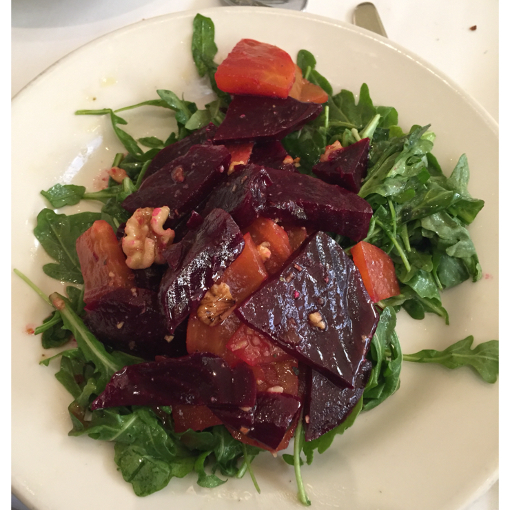 Vegan user review of Il Fornaio San Jose in San Jose. Roasted beet salad.  Very yummy. #dinner #lunch #salad