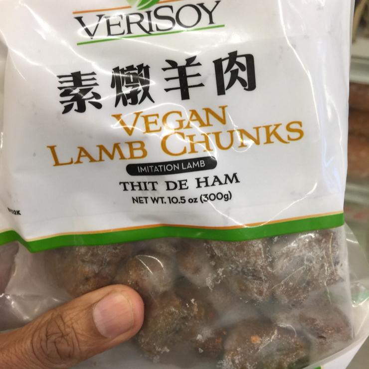Vegan user review of Marina grocery in San Jose. Lamb #food #grocery #store