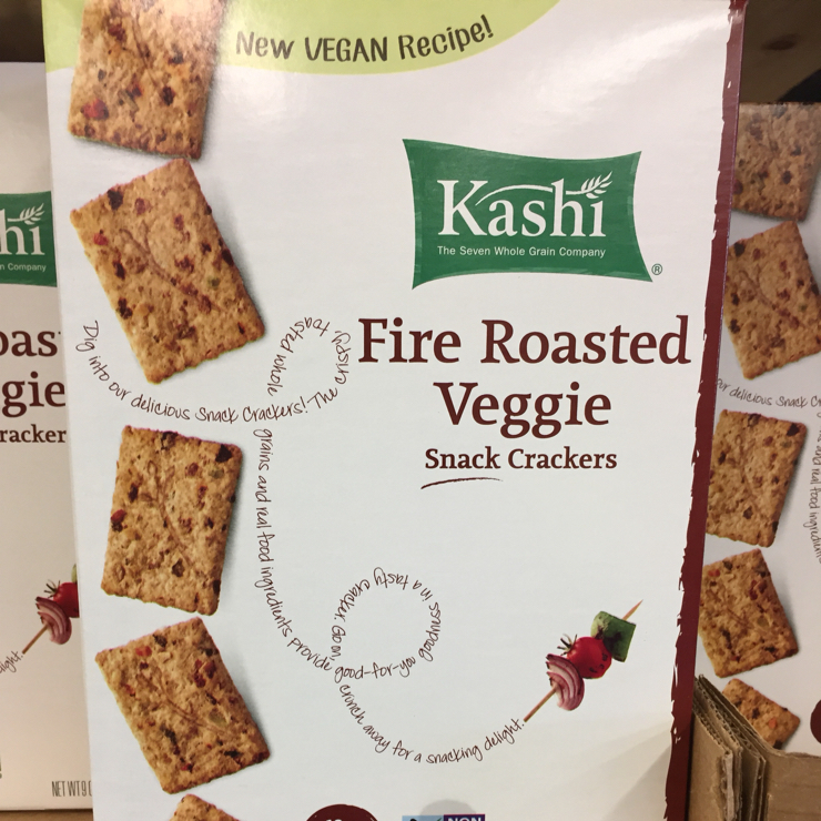 Vegan user review of Grocery Outlet Bargain Market in San Jose. Pretty tasty crackers #snacks #crackers