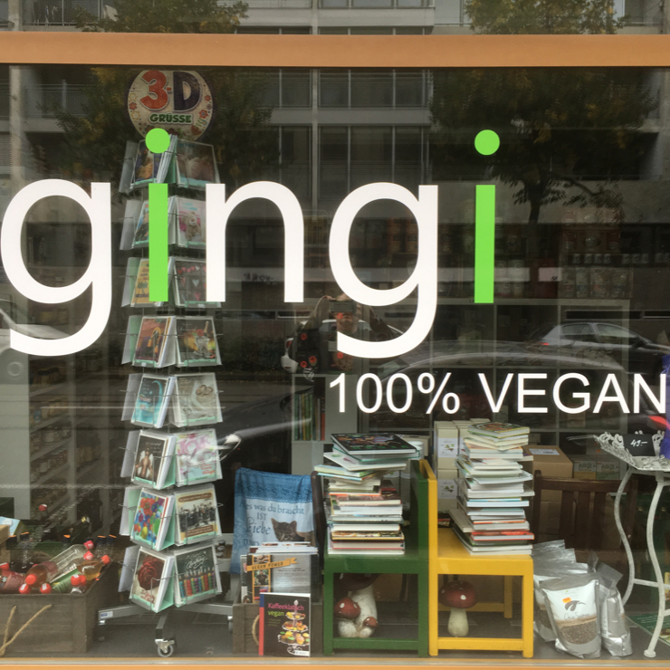 Vegan user review of GINGI 100%VEGAN in Basel. Great all vegan store unfortunately not open on Mondays #store