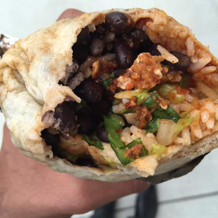 Vegan user review of Chipotle Mexican Grill in Santa Clara. Sofrita burrito 🌯 at Chipotle. #food #lunch #restaurant