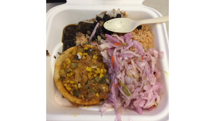 Vegan user review of GoPro in San Mateo. #food #lunch Mexican plate