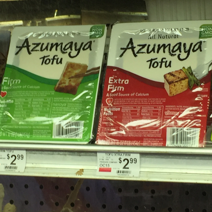 Vegan user review of Mar-Val Food Stores in Groveland. Tofu #grocery