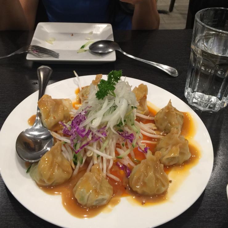 Vegan user review of Veggie Garden in Mountain View. Dumplings #food #restaurant
