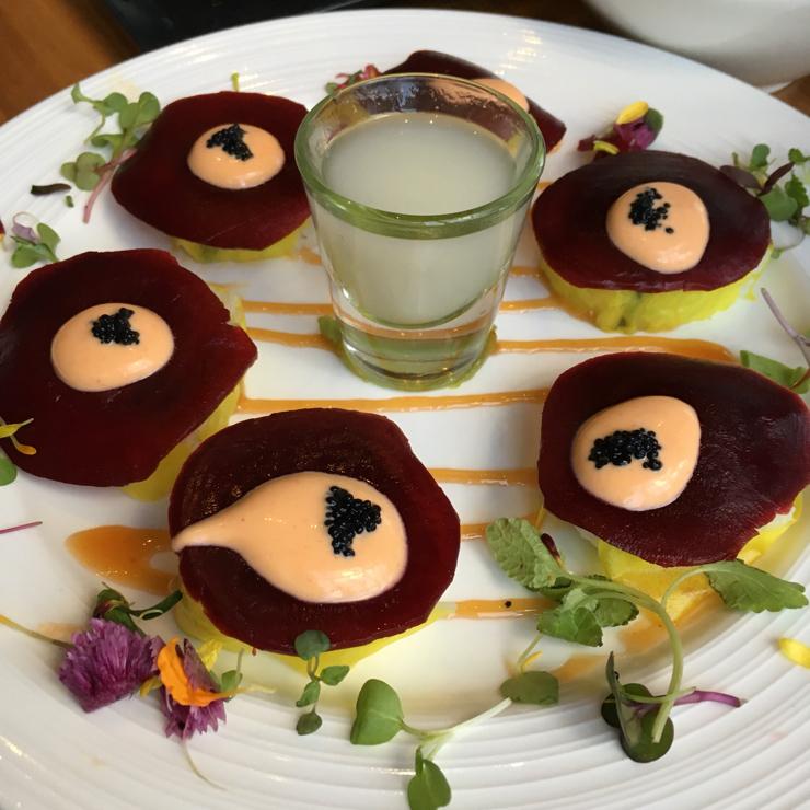 Vegan user review of Shizen Vegan Sushi Bar & Izakaya in San Francisco. Surprise Ending