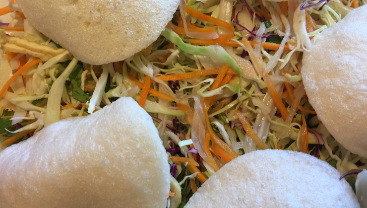 Vegan user review of Merit Vegetarian Restaurant in Sunnyvale. Lotus salad #lunch