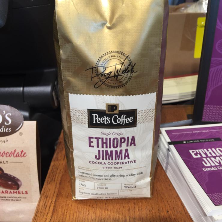 Vegan user review of Peet's Coffee in Dublin. New coffee ☕️ at Peet's. #food